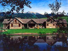 Iron Horse Ranch, Bozeman, Montana, designed by Jon Foote
