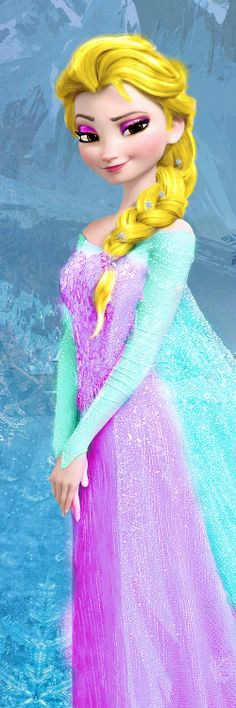 An Elsa edit I made for my little sister,once again pestered me for it (the original pinner, not me)