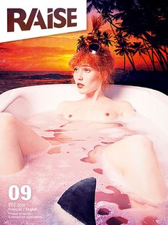 Cover Raise Magazine Issue #9 with Lisa Carletta #LisaCarletta