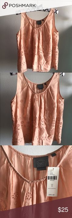 Anthropologie NWT tank! NWT! Cute tank! Anthropologie Tops Tank Tops