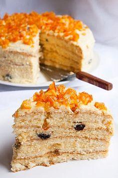 Oroszkrém torta Naan, Evo, Vanilla Cake, Cookie Recipes, Cookies, Recipes For Biscuits, Crack Crackers, Biscuits, Biscuits