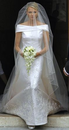 Charlene, Princess of Monaco. I hope she & Albert are happy & will have children.