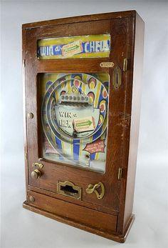 Vintage Oak cased Pinball machine