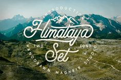 Download Himalaya Set Type Fonts by maghrib. Subscribe to Envato Elements for unlimited Fonts downloads for a single monthly fee. Subscribe and Download now!