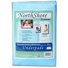 NorthShore Premium Blue Disposable Underpads (Chux), 8 oz., Small Size 17 x 24, Case/100 (4/25s) NorthShore http://www.amazon.com/dp/B002QW3EA8/ref=cm_sw_r_pi_dp_Ofbbxb0Y5GNMP