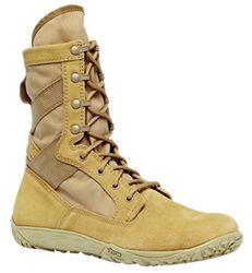 Minimalist combat boot. My current boots are OK, but really would like something more like my daily-wear vivobarefoots for patrol, and general desert use. Also, cheaper on amazon and here: http://uspatriottactical.com/tactical-research-tr-minimil-ultra-light-minimilist-tactical-military-boot