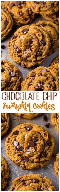 Vegan Pumpkin Chocolate Chip Cookies Recipe