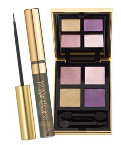 YSL Parisian Night Makeup Collection for Holiday 2013, 4 shadow
