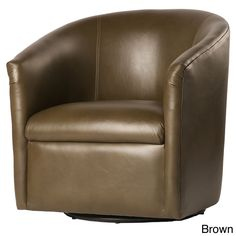Contemporary and stylish, the Riva swivel accent chair comes in a variety of…