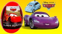 Disney Pixar Cars Pixar Planes toys Kinder Surprise Cars 2 Киндер Сюрпри...
