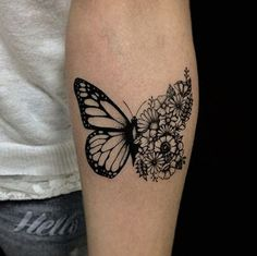 Sweet Ideas For Butterfly Tattoos Designs - Amazing Cute Ideas . - cute ideas for butterfly tattoos designs – amazing cute ideas for butterfly tattoo design - Pretty Tattoos, Love Tattoos, Beautiful Tattoos, New Tattoos, Body Art Tattoos, Small Tattoos, Tatoos, Mini Tattoos, Floral Tattoos