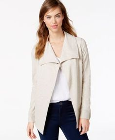 Kensie Ponte-Knit Snap Jacket, a Macy's Exclusive Style