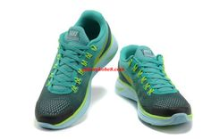 Cheap Lunarglide 4 Mens Atomic Teal Black Yellow Volt Trainer Shoes 524977 013      #Volt  #Womens #Sneakers