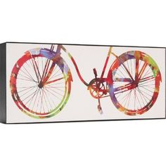 Ashton Wall Décor LLC Trends Bike Ride I Graphic Art on Wrapped Canvas