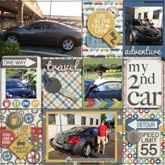 my second car - Scrapbook.com
