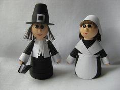 Thanksgiving paper pilgrims