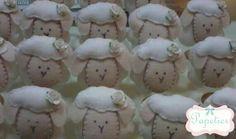 Porta guardanapos ovelhinha