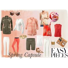 """""""Spring Capsule"""" by amy-golomb-harris on Polyvore www.KimberleyJohnson.CAbionline.com"""