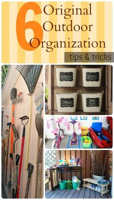 Spring Cleaning Tips to Organize Outdoor Spaces - Oh So Savvy Mom