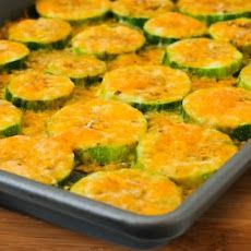 Val's Kid-Friendly Broiled Zucchini with Cheese
