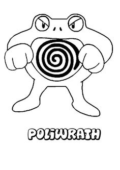 Poliwrath Pokemon coloring page. Print out and color this Poliwrath Pokemon coloring page and decorate your room with your lovely coloring pages from . All Pokemon Drawing, Pikachu Drawing, Pikachu Art, Pokemon Coloring Sheets, Pikachu Coloring Page, Free Coloring Pages, Coloring For Kids, Coloring Stuff, My Little Pony Equestria