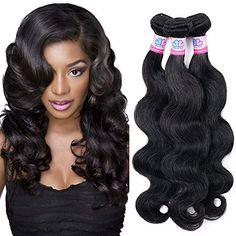 Hair Weaves Genteel Ali Pearl Hair Body Wave Brazilian Hair Weave Bundles 1 Bundle 100% Human Hair 3 And 4 Bundles Natural Color Remy Hair Extension Hair Extensions & Wigs
