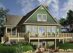 1st level: 9' ceiling.  Foyer with walk-in closet. family room with two faces fireplace, dining area, kitchen with island and lunch counter, bathroom, wraparound balcony, master bedroom with walk in closet, screened porch.