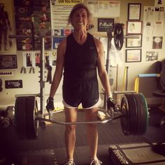 Cage Fighter hits 335lbs - a 15lb PR on her trap bar block pull deadlift. Beast Mode! Awesome job!  #fitness