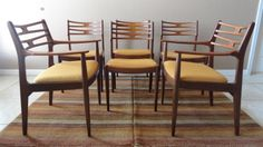 Vintage Mid Century Danish Modern Dining Chair by atomicancient, $1,800.00