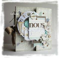 "Mini Album de scrapbooking ""Secret de Famille"""