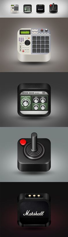 IOS icons on Behance