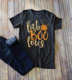 Fab Boo Lous Tee - PREORDER Fall Halloween, Halloween Crafts, Halloween T Shirts, Halloween Work Outfit, Halloween Shoes, Halloween Clothes, Halloween Fashion, Halloween Vinyl, Teen Halloween Party