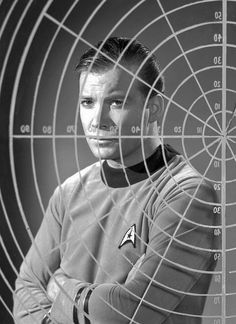Kirk ponders! 1966 by x-ray delta one, via Flickr