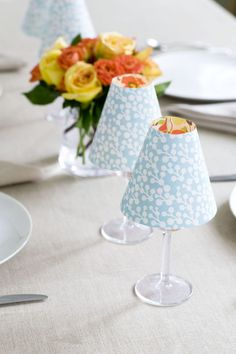 Give your table a chic, cheery feel.