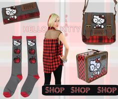 Hello Kitty Plaid Collection