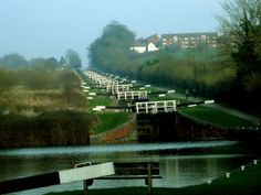 The 105 locks of the Kennet and Avon canal