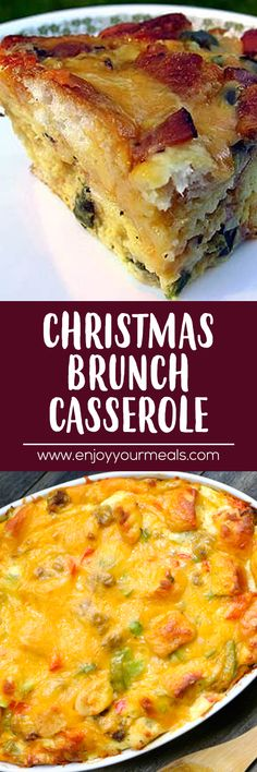Brunch Casserole - Enjoy Your meals -Christmas Brunch Casserole - Enjoy Your meals - pin Western Omelet Quiche This Roasted Garlic Mashed Potato is loaded with Butter, Cream and Cheese, then baked in the oven until ultra crisp on top and gooey underneath. Breakfast And Brunch, Breakfast Items, Breakfast Dishes, Breakfast Recipes, Breakfast Lasagna, Brunch Casserole, Casserole Recipes, Baked Egg Casserole, Quiches