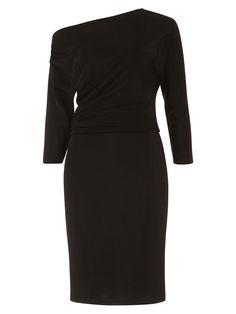 f010b37007248 BuyDamsel in a Dress Willow Asymmetric Neckline Pencil Dress