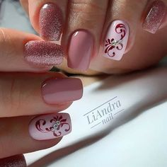 60 Pretty Pink Short Square Nails For Spring Nails Design - Latest Fashion Trends For Woman Creative Nail Designs, Best Nail Art Designs, Short Nail Designs, Nail Designs Spring, Creative Nails, Pink Acrylic Nails, Gel Nails, Lynn Nails, Sqaure Nails
