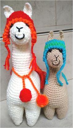 La Llama a Crochet Paso a Paso por Graciela Gaudi