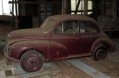 Early Moggie: 1949 Morris Minor - http://barnfinds.com/early-moggie-1949-morris-minor/