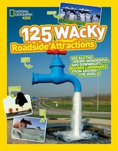 125 Wacky Roadside Attractions, See All the Weird, Wonderful, and Downright Bizarre Landmarks From Around the World and RV camping road trip ideas with unusual roadside attractions