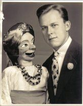 "Dwight K. Hamborsky learned the art of ventriloquism while he was living in Detroit Michigan. He ordered a ventriloquist figure in 1938 from the world renowned maker Frank Marshall.  Dwight worked his way through Wabash College and then University of Michigan Law School doing ventriloquism and magic. He performed in both Indiana and Michigan. In 1943 he entered the Army Air Corps flight school in San Antonio Texas and he took his ventriloquist figure with him. He had named his figure "" Joe…"