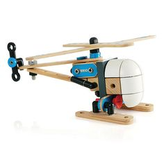 The Brio builder helicopter constructed