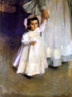 Cecilia Beaux, Ernesta (child with nurse)