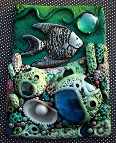 Coral Reef ACEO in sunlight | Flickr - Photo Sharing!