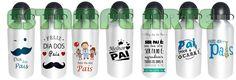 squeeze de aluminio personalizado com tema  Dia doa Pais atacado e varejo