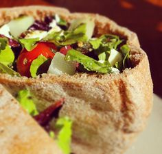 A good pita bread can be magical. We've come up with a great recipe for a Whole Wheat Pita that will transform your lunch menu forever.