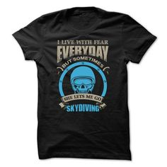 Awesome Skydiving  Shirt T Shirts, Hoodies Sweatshirts