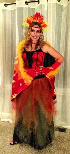 phoenix costume for halloween 2012 - Halloween Costumes In Phoenix